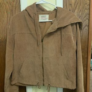 Brown corduroy type jacket